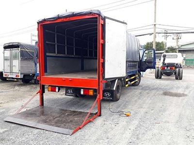 Cho thuê xe tải có nâng hạ