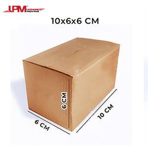 Hộp carton nhỏ 10x6x6