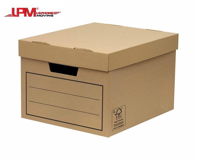 thùng carton đựng linh kiện điện tử, máy tính