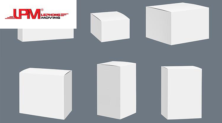 thùng carton trắng